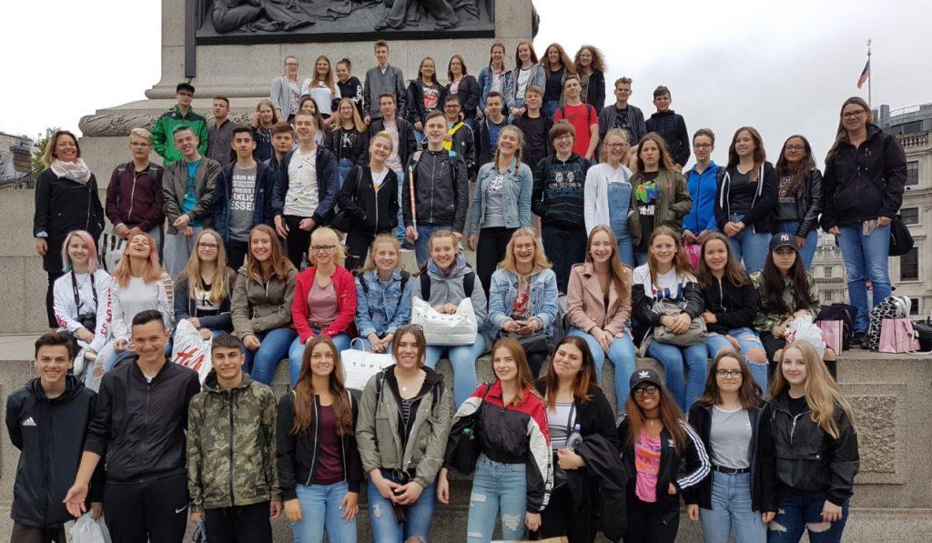 Klassenfahrt London 2018