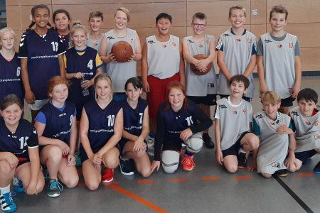 Basketball-Schulmannschaft erfolgreich bei Jugend trainiert