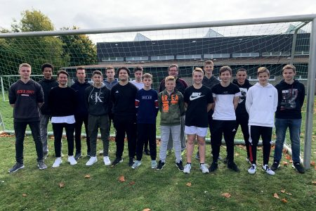 Fußball-Schulmannschaft erkämpft sich Platz 2