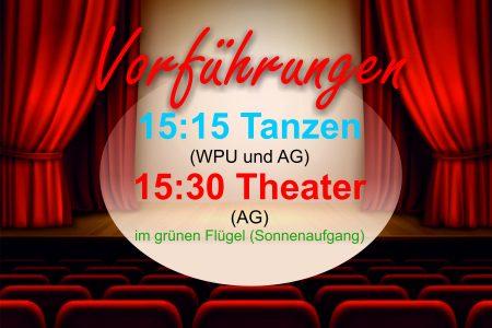 Premiere des Theaters und der Tanz-AG