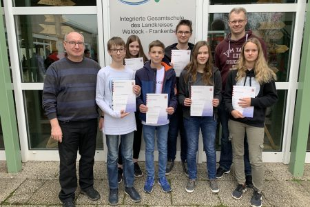 Achtklässler erfolgreich beim hessischen Mathematikwettbewerb