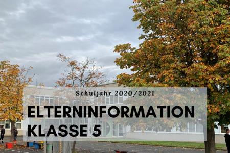Elterninformationen zum Schuljahr 2020/21