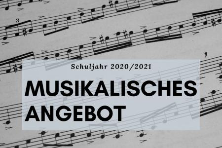 Informationen zum musikalischen Angebot