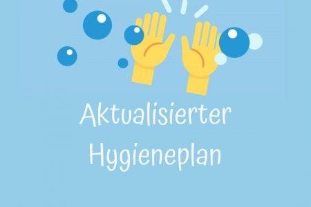 Aktualisierung des Hygieneplans