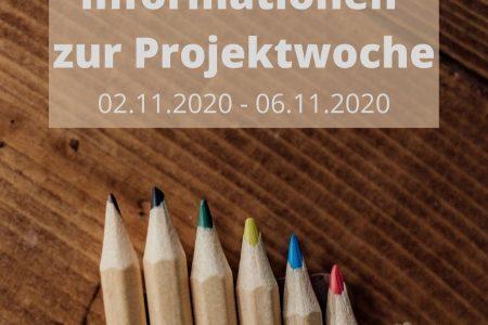 Projektwoche vom 02.11.2020 – 06.11.2020