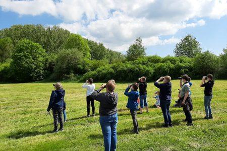 Die Natur erleben und schützen – Gesamtschüler erlernen Grundlagen des Naturschutzes
